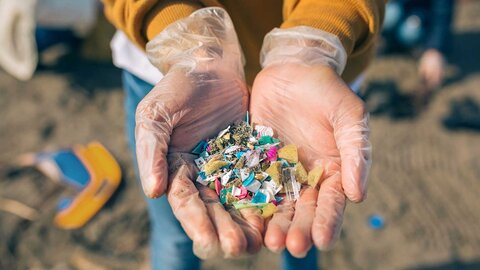 Microplastics can be found virtually everywhere in nature. Even in us humans
